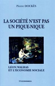Accentsonline.fr LA SOCIETE N'EST PAS UN PIQUE-NIQUE. Léon Walras et l'économie sociale Image