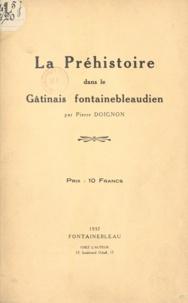 Pierre Doignon - La préhistoire dans le Gâtinais fontainebleaudien.