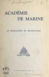 Pierre Douffiagues - Le manganèse de Franceville - Communication faite à l'Académie de marine le 27 novembre 1959.