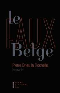 Télécharger un livre gratuitement Le faux belge