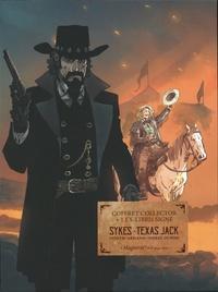 Pierre Dubois et Dimitri Armand - Coffret en 2 volumes - Sykes ; Texas Jack. Avec 1 ex-libris signé.