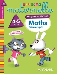 Pierre Dufayet - Maths moyenne section 4-5 ans - Premiers pas.