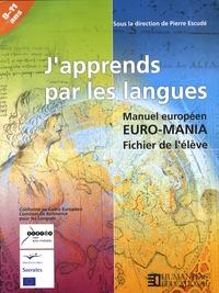 Pierre Escudé - J'apprends par les langues - Manuel européen Euro-Mania - Fichier de l'élève 8-11 ans.