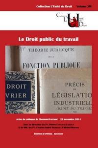 Pierre Esplugas-Labatut et Charles-André Dubreuil - Le Droit public du travail.