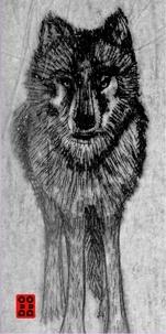 Pierre Ferrand et  Mary-des-Ailes - Le loup végétalien et autres fables contemporaines.