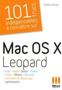 Pierre Fontaine - Mac OS X Leopard.