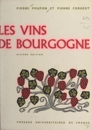 Les vins de Bourgogne. Bandeaux et culs-de-lampe de Paul Devaux