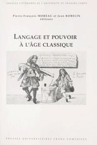 Pierre-François Moreau et Jean Robelin - .