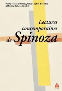 Pierre-François Moreau et Mireille Delbraccio - Lectures contemporaines de Spinoza.