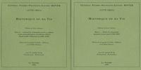 Pierre-François-Xavier Boyer - Historique de ma vie - 2 volumes.