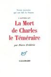 Pierre Frédérix - La mort de Charles le Téméraire.