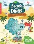 Pierre Gemme et Jess Pauwels - L'école des dinos Tome 3 : Tricé est amoureux.