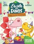 Pierre Gemme - L'école des dinos Tome 4 : Stega fête son anniversaire.
