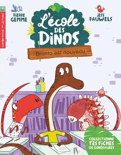 L'école des dinos Tome 8 Bronto est nouveau