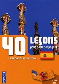 Pierre Gerboin - 40 Leçons pour parler espagnol. 2 CD audio