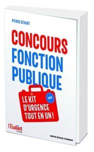 Pierre Gévart - Concours Fonction publique - Le kit d'urgence tout-en-un.