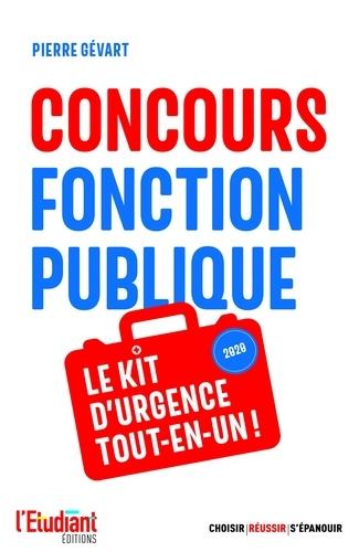 Concours Fonction publique. Le kit d'urgence tout-en-un
