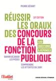 Pierre Gévart - Réussir les oraux des concours de la fonction publique.