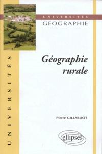 Pierre Gillardot - Géographie rurale.