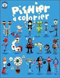 Pierre Girard - Pishier à colorier.