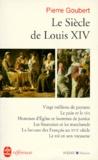 Pierre Goubert - Le siècle de Louis XIV - Études.