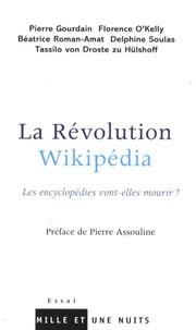 Pierre Gourdain et Florence O'Kelly - La Révolution Wikipédia - Les encyclopédies vont-elles mourir ?.