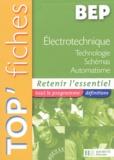 Pierre Graftieaux - Electrotechnique BEP - Technologie, schémas, automatisme.