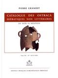 Pierre Grandet - Catalogue des ostraca hiératiques non littéraires de Deîr el-Médînéh - Tome 12 N° 10276-10405.