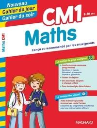 Pierre Granier et Bernard Séménadisse - Cahier du jour/Cahier du soir Maths CM1 + mémento.