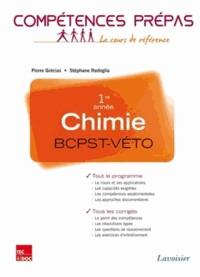 Pierre Grécias et Stéphane Rédoglia - Chimie 1re année BCPST VETO - Nouveaux programmes 2013.