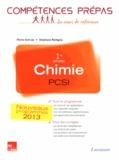 Pierre Grécias et Stéphane Rédoglia - Chimie 1re année PCSI.
