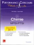 Pierre Grécias et Vincent Tejedor - Chimie MPSI-PTSI 1re année.