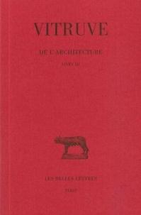 Pierre Gros - De l'architecture tome 3.