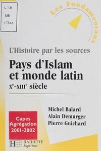 Pierre Guichard et Michel Balard - .