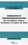 Pierre Hébrard - Formation et professionnalisation des travailleurs sociaux, formateurs et cadres de santé.