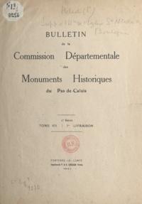 Pierre Héliot - Supplément à l'histoire de l'église Saint-Nicolas de Boulogne.