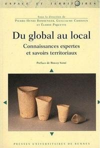 Pierre-Henri Bombenger et Guillaume Christen - Du global au local - Connaissances expertes et savoirs territoriaux.