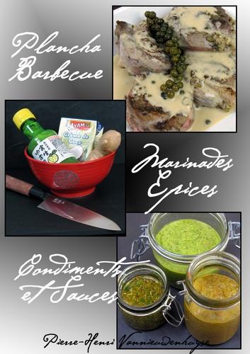 Plancha, Barbecue : Marinades, Epices, Condiments et Sauces. Vous allez adorer la plancha