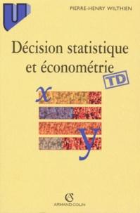 Era-circus.be DECISION STATISTIQUE ET ECONOMETRIE. Eléments de cours et exercices corrigés Image