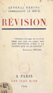 Pierre Héring et Louis Le Roc'h - Révision.