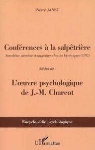 Conférences à la Salpêtrière suivies de Loeuvre psychologique de Charcot.pdf