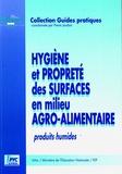 Pierre Jaudon - Hygiène et propreté des surfaces en milieu agro-alimentaire - Produits humides.