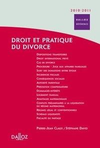 Droit et pratique du divorce - Pierre-Jean Claux | Showmesound.org