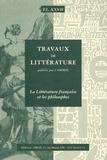 Pierre-Jean Dufief - La Littérature française et les philosophes.