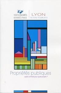 Deedr.fr Propriété publique, quels contrats pour quels projets ? - 109e congrès des notaires de France Image