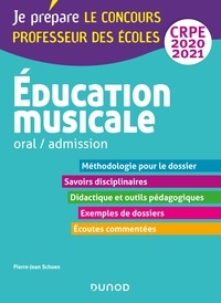 Pierre-Jean Schoen - Education musicale - Oral / admission - CRPE 2020-2021.