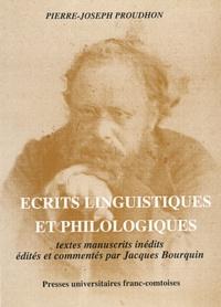 Pierre-Joseph Proudhon - Ecrits linguistiques et philologiques - Textes manuscrits inédits.