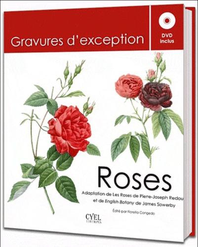 Pierre-Joseph Redouté et James Sowerby - Roses - Gravures d'exception. 1 DVD