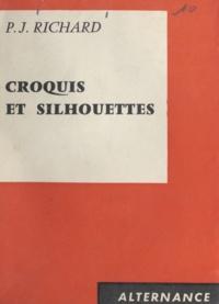 Pierre-Joseph Richard - Croquis et silhouettes.