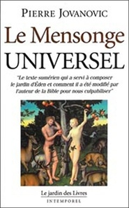 Pierre Jovanovic - Le mensonge universel.